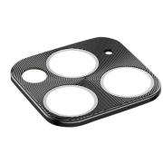 Защитная металлическая крышка на камеру для iPhone 11 Pro/11 Pro Max (Черный)