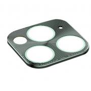 Защитная металлическая крышка на камеру для iPhone 11 Pro/11 Pro Max (Зеленый)
