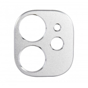 Защитная металлическая крышка на камеру для iPhone 11 (Серебро)