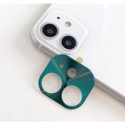 Защитная металлическая крышка на камеру для iPhone 11 (Зеленый)