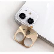 Защитная металлическая крышка на камеру для iPhone 11 (Золотой)