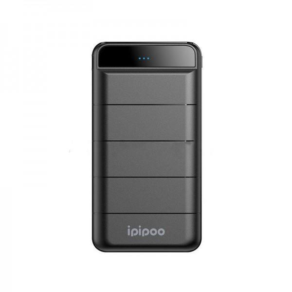 Внешний аккумулятор Ipipoo LP-25 power bank 10000mAh (Черный)