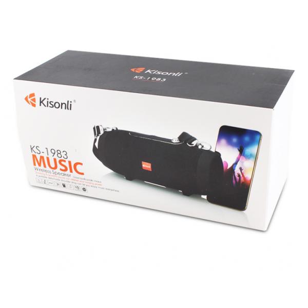 Портативная акустика Kisonli KS-1983 Bluetooth (Черный)