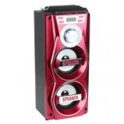 Портативная Bluetooth колонка Speaker MS-106BTB (Красный)