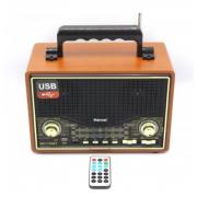 Ретро радио-колонка Kemai MD-1706U (Черный)