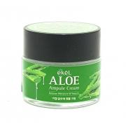 Ампульный крем для лица Ekel с экстрактом алоэ Aloe Ampule Cream 70мл (Кремовый)