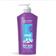 Гель для душа AsiaKiss с маслом арганы Argan body wash (Кремовый)