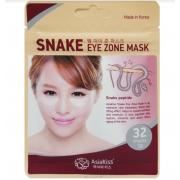 Патчи для глаз AsiaKiss со змеиным ядом Snake Eye Zone 32шт АК236 (Кремовый)