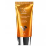 Крем CC для лица Ekel с экстрактом лошадиного жира CC Horse Cream SPF50 50 г 537627 (Прозрачный)
