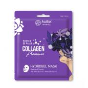 Гидрогелевая маска AsiaKiss Collagen Hydrogel Mask с экстрактом коллагена (Кремовый)