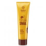 Крем для рук AsiaKiss с экстрактом слизи улитки Snail Hand Cream (Кремовый)