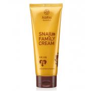 Универсальный крем AsiaKiss для всей семьи c муцином улитки Family Snail cream (Кремовый)