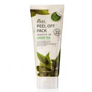 Маска-плёнка Ekel с зеленым чаем Peel Off Pack Green Tea 180 мл (Прозрачный)
