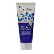 Пенка для умывания Ekel с коллагеном Collagen Foam Cleanser 180 мл (Кремовый)