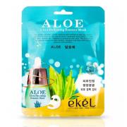 Тканевая маска для лица Ekel с экстрактом алое Ekel Aloe Ultra Hydrating Essence Mask (Кремовый)