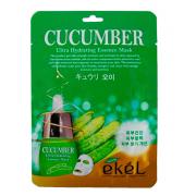 Тканевая маска для лица Ekel с экстрактом огурца Ultra Hydrating Essence Mask 25 мг (Кремовый)