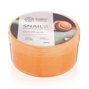 Увлажняющий гель AsiaKiss для лица с муцином улитки Soothing Gel Snail 300 г (Бежевый)