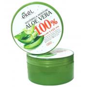 Увлажняющий гель для лица и тела AsiaKiss с алоэ вера Aloe Vera Soothing Gel 300 мл (Зеленый)