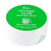 Увлажняющий крем Ekel с экстрактом алоэ Aloe Moisture Cream 100 г (Зеленый)