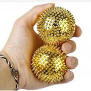 Массажные магнитные шарики Massaging Needlle MS-060 (Золотой)