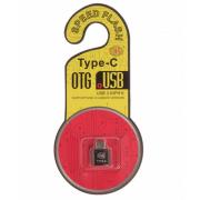 Адаптер переходник OTG T06 Type-C на USB (Черный)