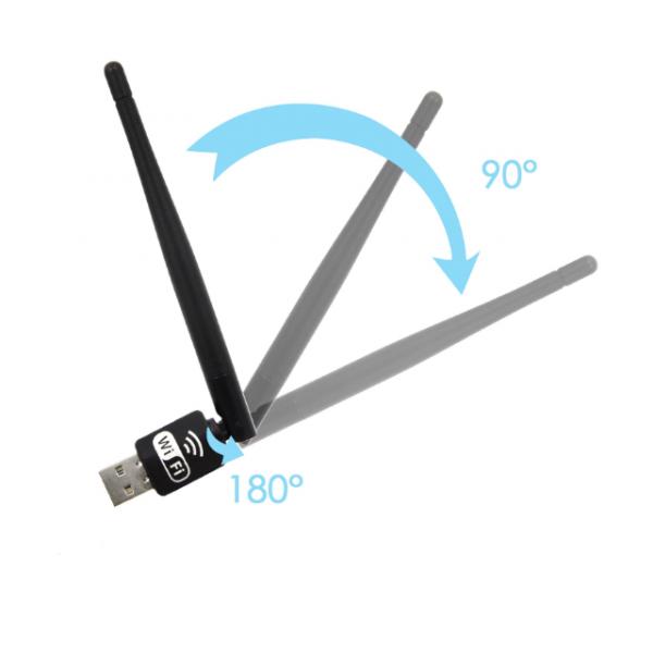 Беспроводной Wi-Fi USB адаптер с антенной Pix-Link LV-UW10 (Черный)