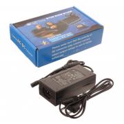 Универсальный блок питания для ноутбука Live-Power 12V-24V 96W и 8 насадок (Черный)