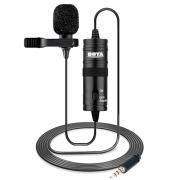 Петличный микрофон Boya BY-M1 (Черный)