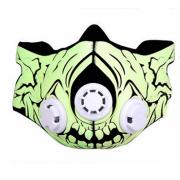 Маска для тренировки дыхания Elevation Training Sport Mask 2.0 M (Желтый)