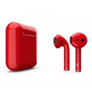 Беспроводные Bluetooth наушники i10XS (Красный)
