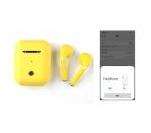 Беспроводные Bluetooth наушники i9S TWS с анимацией (Желтый)