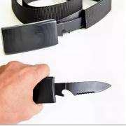 Ремень-нож Grizzly (Черный)