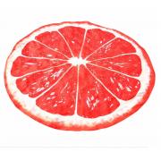 Круглое пляжное полотенце покрывало Грейпфрут 150 см (Оранжевый)