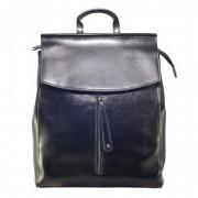 Рюкзак Italian натуральная кожа (Черный)