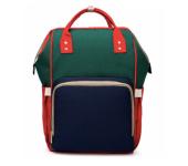 Сумка-рюкзак для мам Anello (Синий с зеленым)
