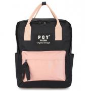 Сумка-рюкзак Poy Phium Design (Черный с розовым)
