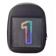 Рюкзак со встроенным LED дисплеем экраном (Черный с серым)