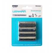 Аккумуляторы Lenmar PRO425R AA 2500 mAh 4 шт (Серебристый)