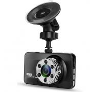 Автомобильный видеорегистратор T638 с камерой заднего вида (Черный)
