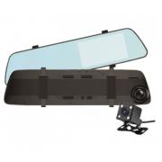 Авторегистратор-зеркало с камерой заднего вид L1022 (Черный)