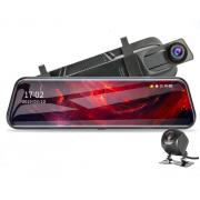 Авторегистратор-зеркало с камерой заднего вид L1027 (Черный)