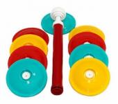 Вакуумные крышки для банок с насосом (Разноцветный)