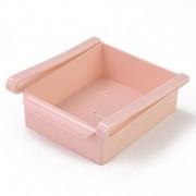 Органайзер для холодильника Refrigerator Multifunctional Storage Box TV-518 (Розовый)