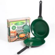 Двухсторонняя сковорода для блинов и омлета Pancake Maker (Зеленый)