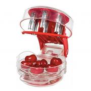 Удалитель косточек из вишни Cherry Pitter (Красный)