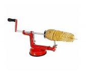 Аппарат для нарезки картофеля спиралью Spiral Potato Slicer (Красный)