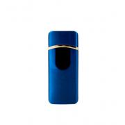 Электронная зажигалка с зарядкой от usb Lighter Classic Fashionable1 (Синий)