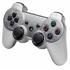 Беспроводной Bluetooth контроллер для SONY DUALSHOCK 3 для PlayStation 3 (Серебряный)