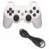 Беспроводной Bluetooth контроллер для SONY DUALSHOCK 3 для PlayStation 3 (Белый)