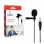 Микрофон на прищепке Univus U-1 для камер и телефонов (Черный)